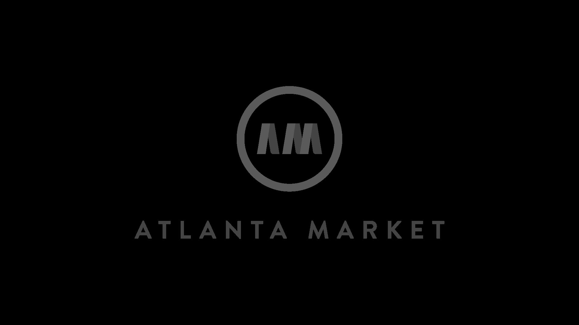 Atlanta Market - Dark Greyscale Logo